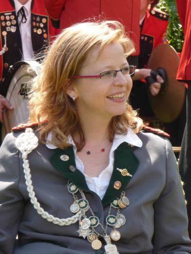 Damenkönigin Margit Nordmann
